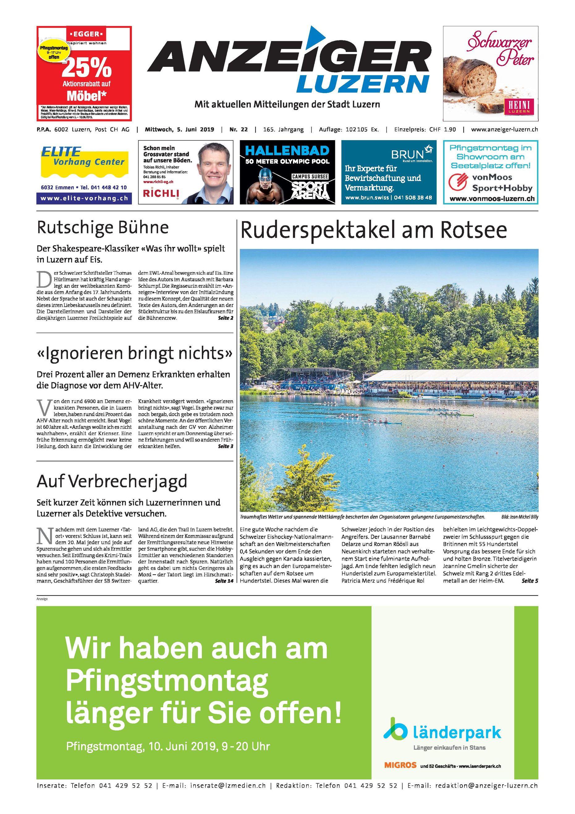 Anzeiger Luzern June 2019