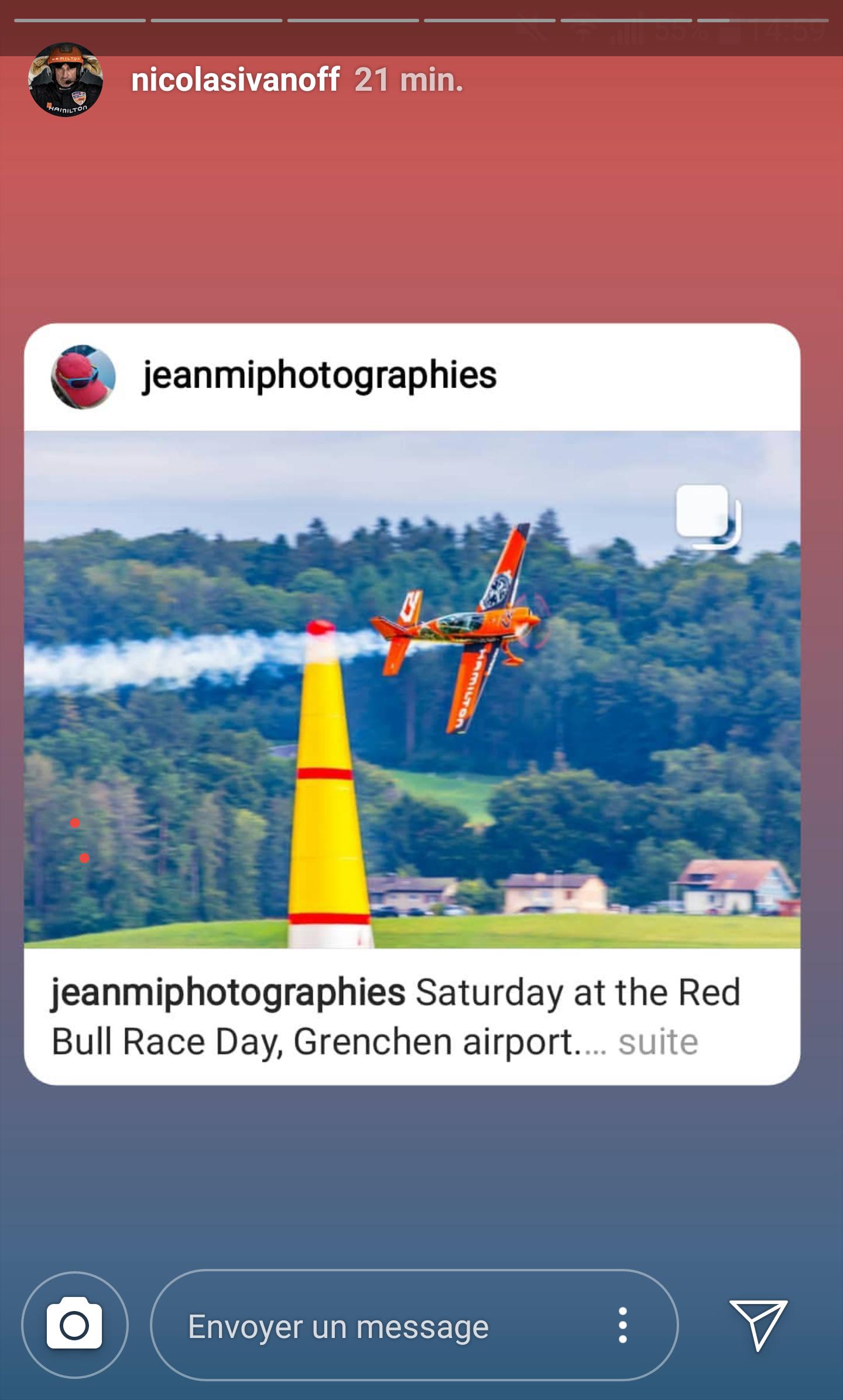 Nicolas Ivanoff - Red Bull Air Race