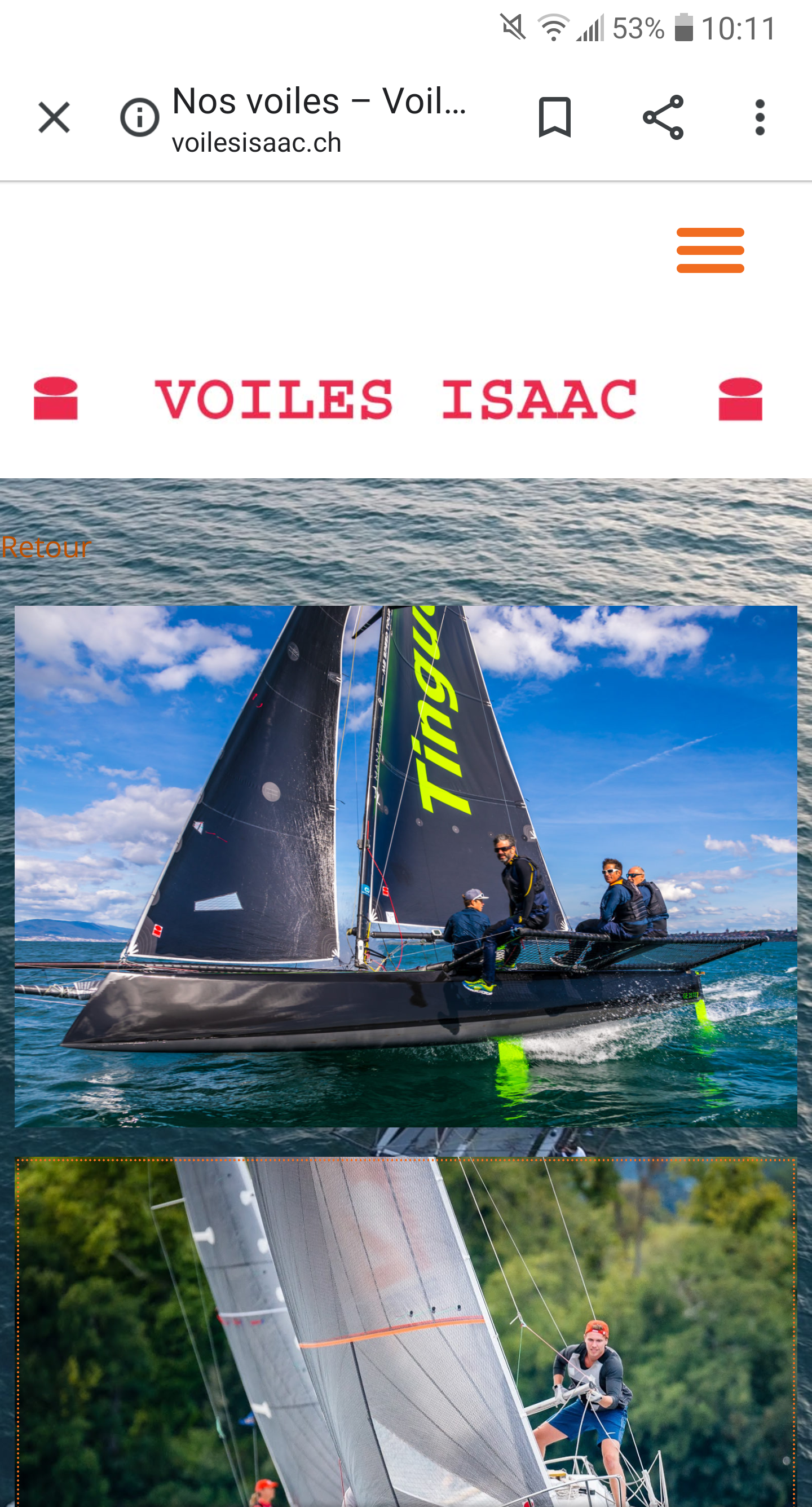 Voiles Isaac